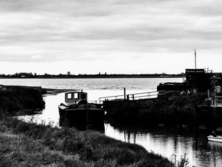 Evening tide, Barrow Haven.