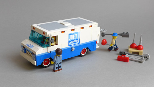 Joe the Plumber's Badass Step Van (70811 MOD) | by ER0L