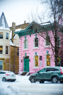 East Town in Snow | by VBuckley.com
