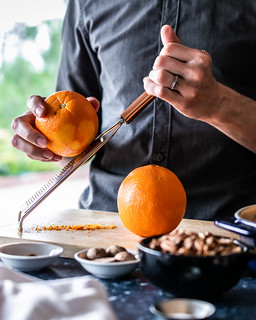 it's much easier to zest your oranges *before* you juice them | by Husbands That Cook