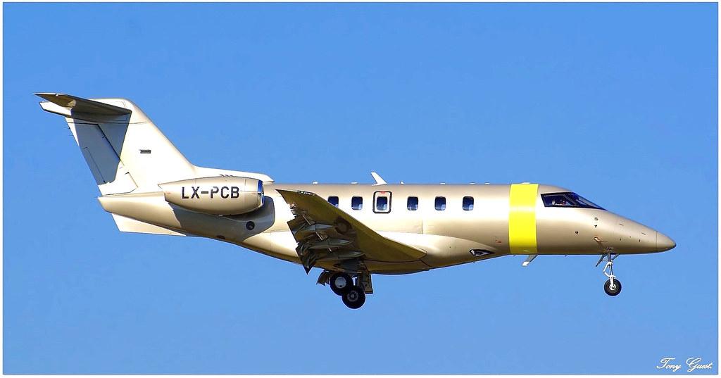 LX-PCB   Pilatus PC24    JetFly Aviation (Luxembourg) First