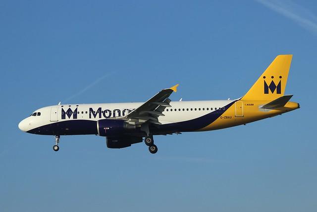 Monarch Airbus A320-214 G-ZBAU
