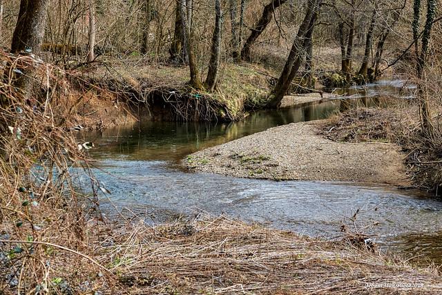 Rijeka Dobra između Moravica i Vrbovskog