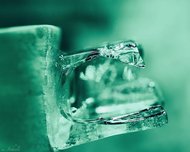 ... molten ice cube
