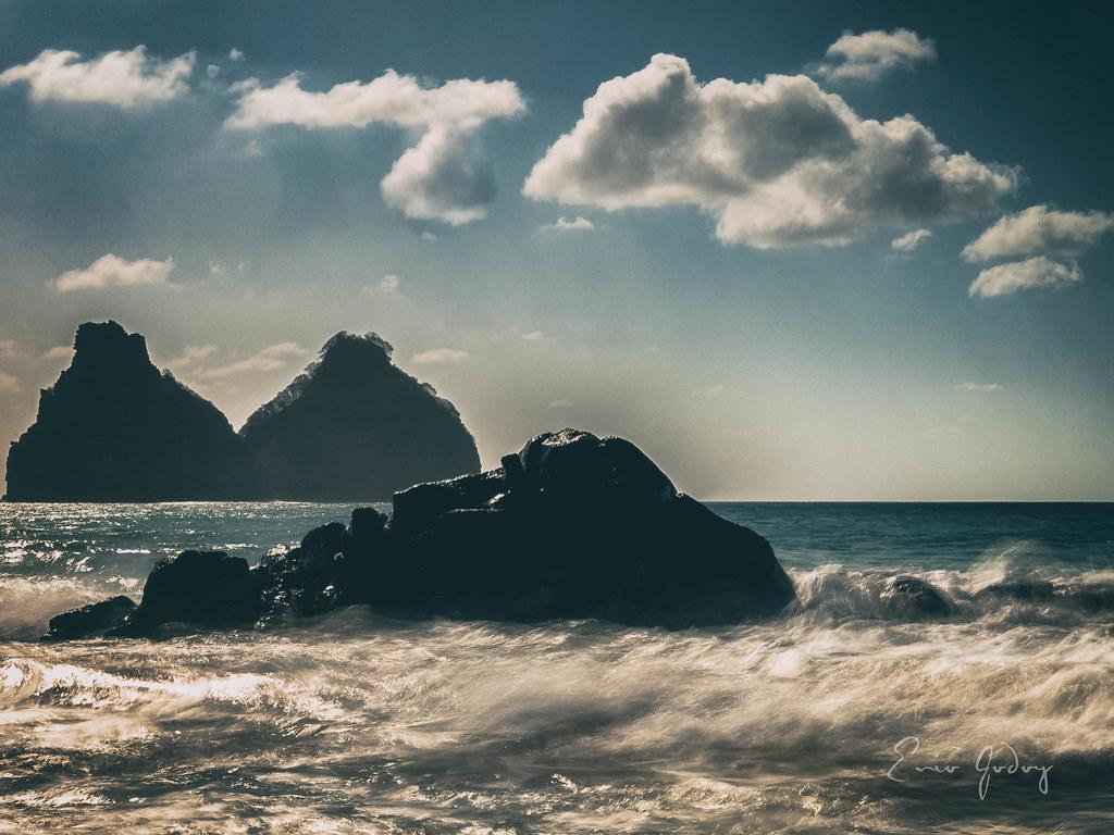Waves - Sunset - 1