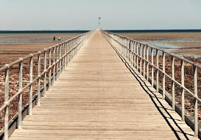 A Walk off the Wood, Port Germein, South Australia