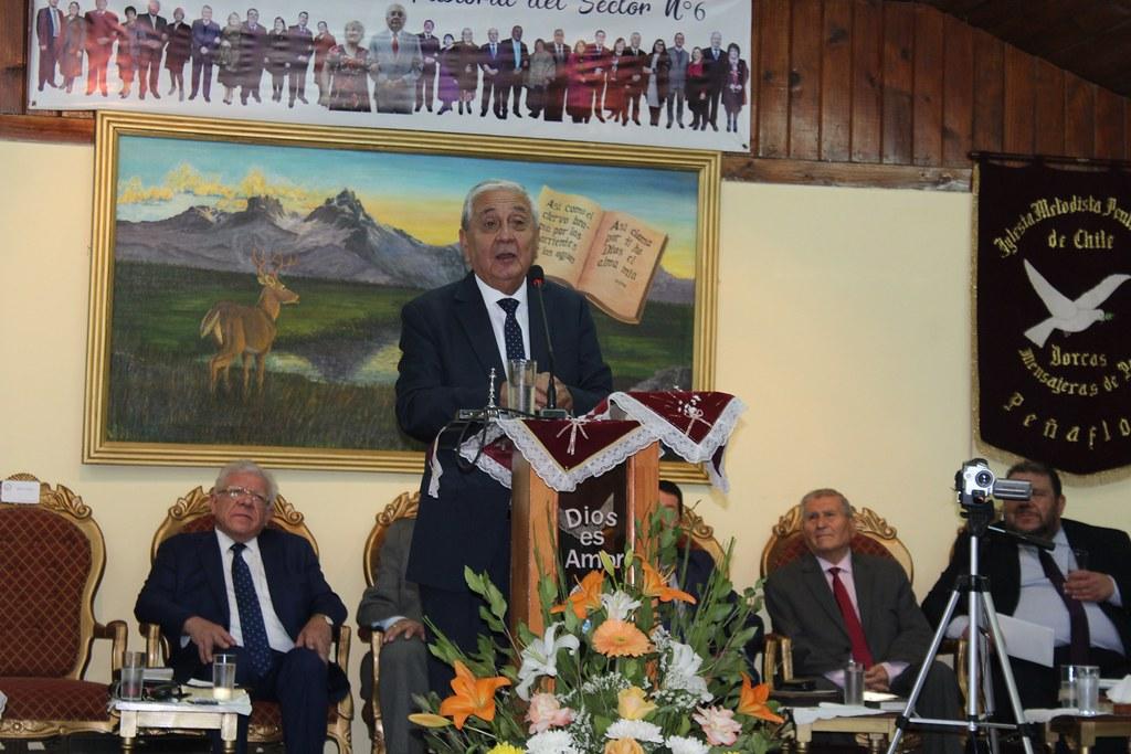 Primera Reunión de Pastores Sector 6 año 2019 en Iglesia de Peñaflor
