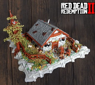 Red Dead Redemption II - The meteor house | by KevFett2011