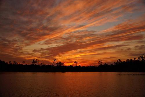 sunset spectacularsunsetsandsunrises cloudsstormssunsetssunrises cloudscape northcarolina fairfieldharbour creek sony sonyphotographing sonya58