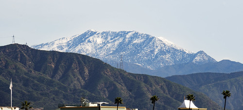 sangabrielmountains snow view arcadia