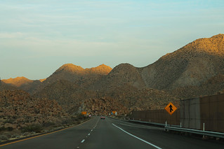 I-8 East - Boulder Mountains ahead of Exit | by formulanone