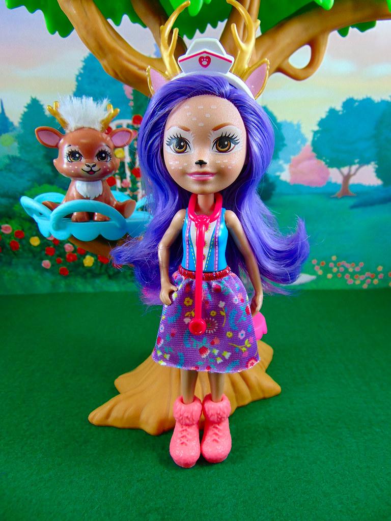 3fb8c8c3f02 Doll (Mattel) Enchantimals: Danessa Deer & Sprint