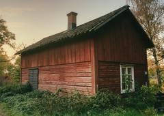 Red House Sunrise