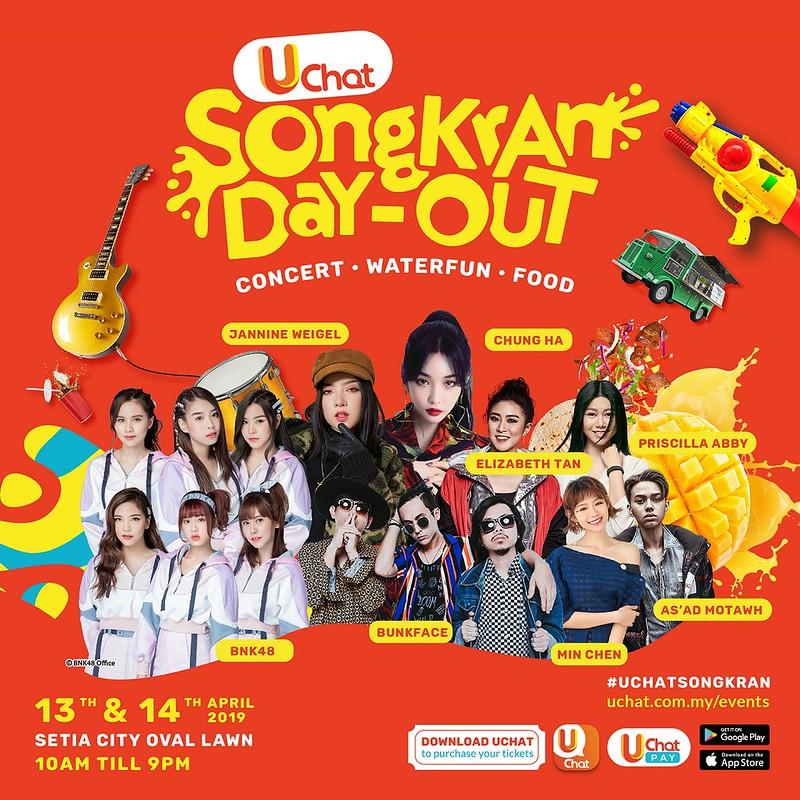 Peraduan Menang Pass Uchat Songkran Day-Out 2019