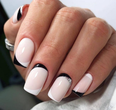 40 spring light color square acrylic nails designs 2019