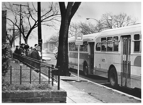 Riders let buses go by; wait for alternative rides: 1968 | by Washington Area Spark