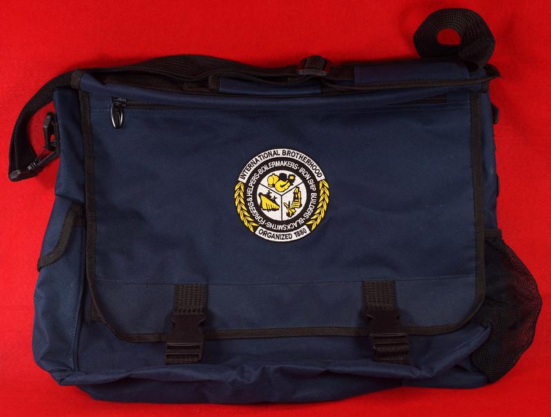 RD17312 Boilermakers, Shipbuilders, Blacksmiths, Forgers AFL-CIO-CFL Brotherhood Messenger Shoulder Bag DSC09433