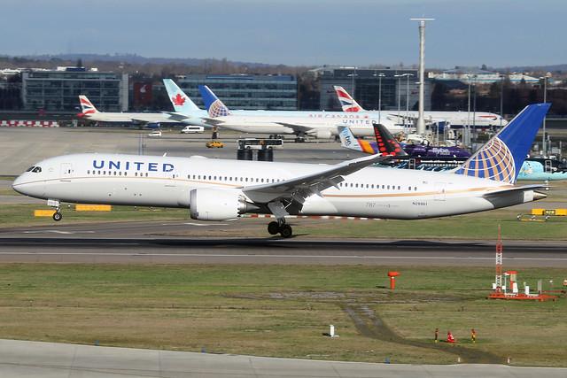 N29961  -  Boeing 787-9 Dreamliner  -  United Airlines  -  LHR/EGLL 11-2-19