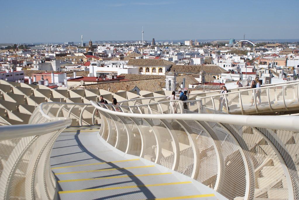 Mirador du Metropol Parasol ou Las Setas à Séville