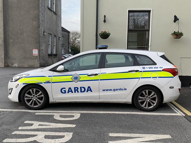 Irish Police Car - Hyundai Patrol Car - An Garda Siochana
