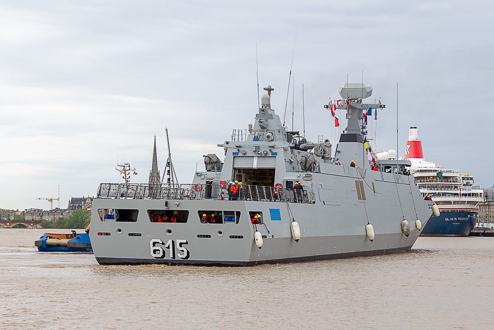 Royal Moroccan Navy Sigma class frigates / Frégates marocaines multimissions Sigma - Page 25 40585367913_d9f79bc6ae_b