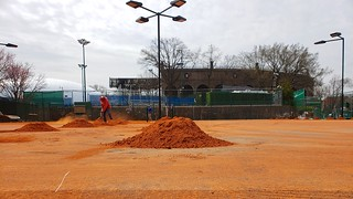 Resurfacing The Clay Courts At The Tennis Club | by Joe Shlabotnik