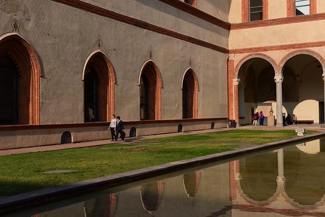 Castello Sforzesco, Milano, Italy IMG_20190105_061321
