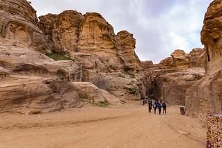 Petra_Iordania 28 dec 18_06_intrare in canion mediu | by Valentin Groza