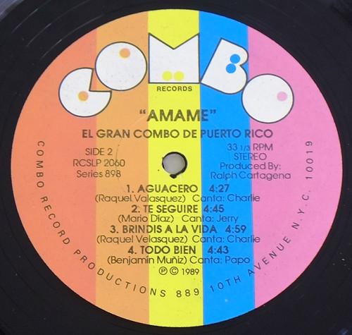 "GRAN COMBO AMEME 12"" LP VINYL"