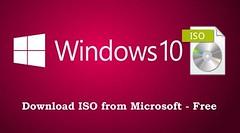 Cách Download file ISO Windows 7/8/10 từ Website Microsoft