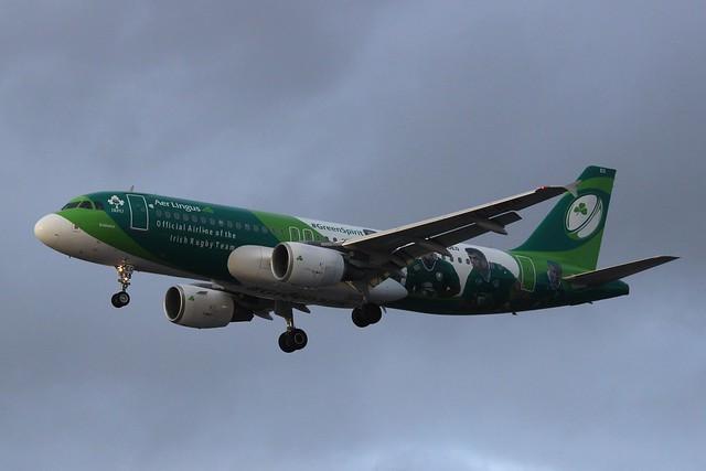 Aer Lingus Airbus A320 EI-DEO #GreenSpirit livery