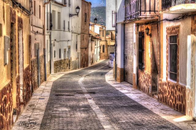 Una calle de Andilla