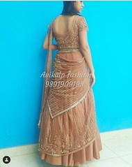 Lehenga saree designer in Delhi India