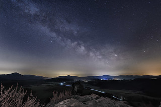 Die erste Milchstraße des Jahres