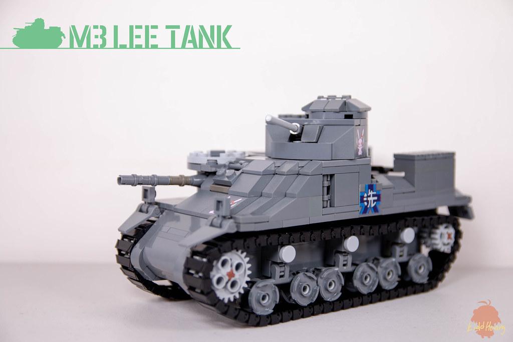 [二戰軍武] [K式軍工]M3李中戰車(少女與戰車版)