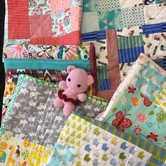 Baby quilts for the Grace Centre
