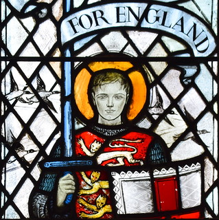 For England; St George and wild geese (Margaret Edith Rope, 1949) | by Simon_K