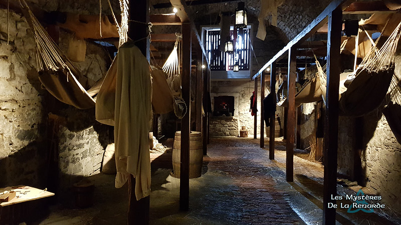 Prisons - Voûtes du Château d'édimbourg