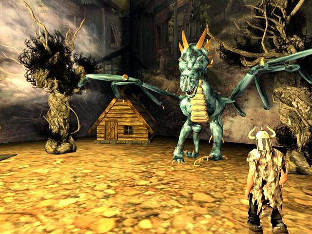 Royal Opera House - Vikings -Dragon Comes To Visit