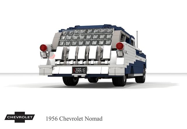 Chevrolet 1956 Nomad Hardtop Wagon