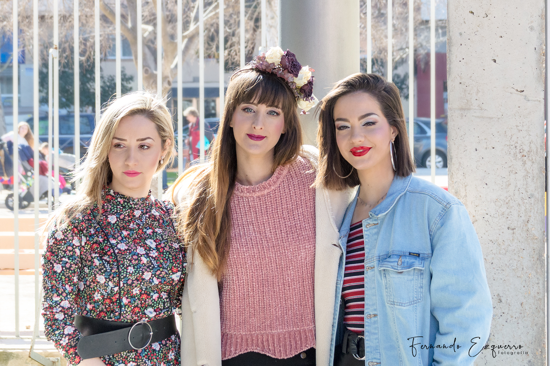 Alexandra, Lucía e Irene