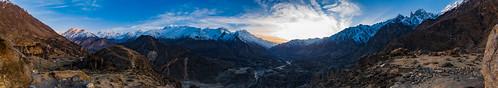 pk pakistan gilgitbaltistan gilgit hunza karakoram himalayas himalaya karakorams karimabad duikar landscape landscapes 7thousander cloudscape panorama countryside rural