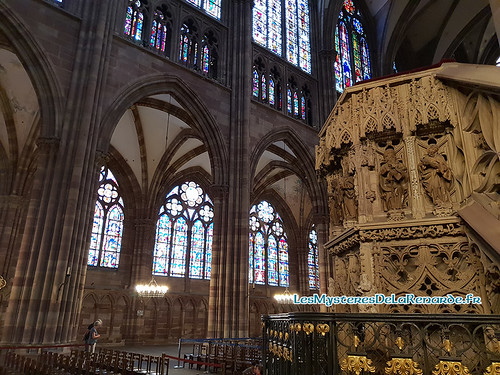 Chair Cathédrale Strasbourg | by Lucia La Renarde