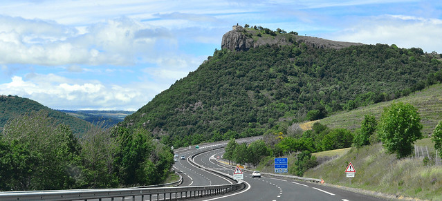 The Chapelle Sainte-Madeleine & A75 Autoroute