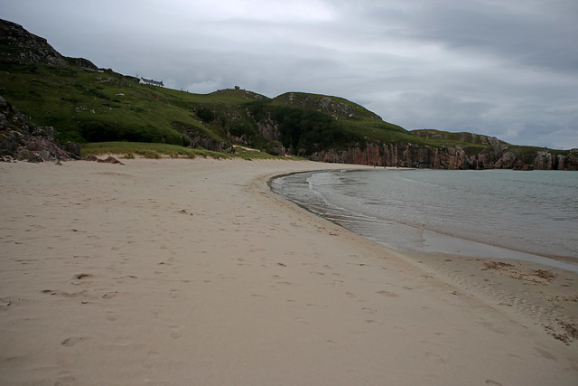 The beach of Traigh Allt Chailgeag near Rispond, Sutherland