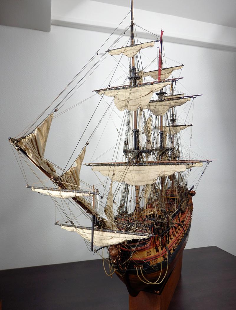 VICTORY 1737 - éch 1/84 - inspiré du Victory 1737-1744 32547793247_e681e28421_o