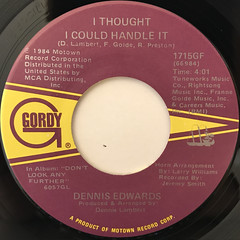 DENNIS EDWARDS:DON'T LOOK ANY FURTHER(LABEL SIDE-B)