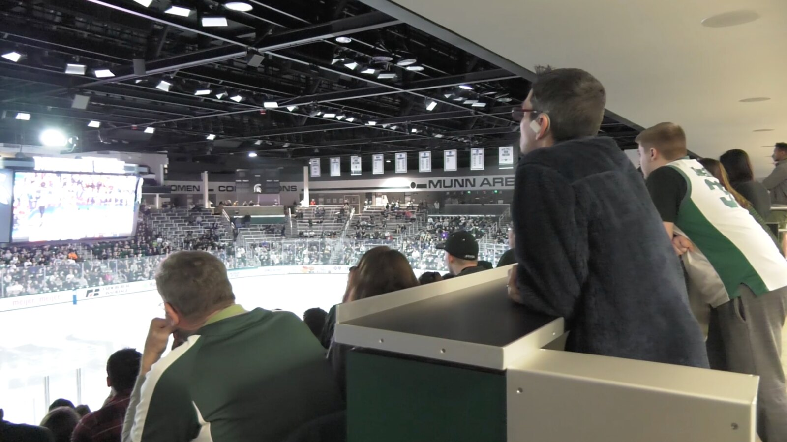 MSU Basketball Watch Party Ends in Sadness