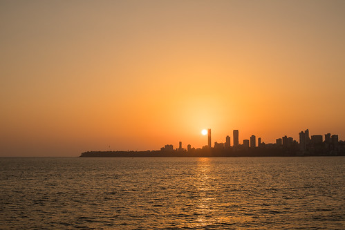 Sunset over the City, Mumbai | by Geraint Rowland Photography