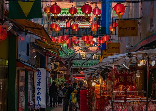 At China town,Yokohama